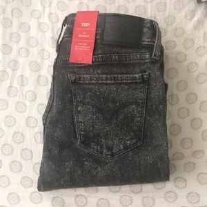 Levi's Acid Wash 711 Skinny Jean